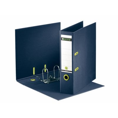ever arch file recycle 180° A4 80 mm dark blue Leitz