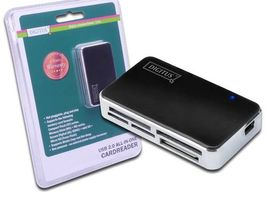 CARD READER USB 2.0 BLACK .