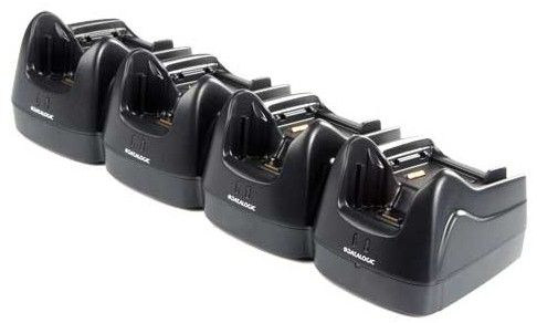 Datalogic Lynx Dock, Ethernet(4 slot). 4 terminals & 4 batteries. Power supply incl. order Power cor