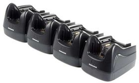 Lynx Dock, Ethernet(4 slot). 4 terminals & 4 batteries. Power supply incl. order Power cor
