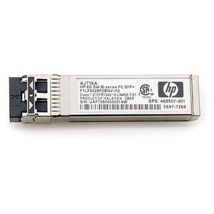 Hewlett Packard Enterprise 4 Gb Fibre Channel SFP långvågstransceiver i B-serien, 30 km, 1-pack (AN211A)