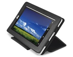 "Tablet ZiiO 7"" Leather Case"