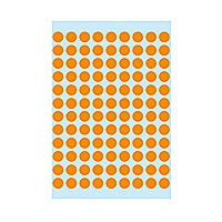 Self-adhesive labels HERMA multi-purpose,  ø8mm,10 sheets, 1844 (10x540)