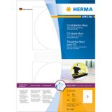 HERMA Cd labels A4 Ø116mm Herma maxi white (100 sheets)