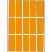 multi-purpose labels, luminous orange, 20 x 50 mm, 360 labels.