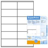 HERMA HERMA super print, label size, 105 x 48 mm, 500 sheets, 6000 labels, (500)