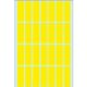 HERMA Label 13x40mm yellow Herma (896)