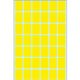 HERMA Label 16x22mm yellow Herma (1344)