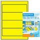 HERMA Label 192x61 yellow 400labels (100sh)