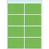 3695 Multi-Purpose Labels 26 x 40mm Green, (10x40)