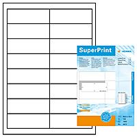 Labels Herma 96.5X33.8mm wit 100 sheets 1600 labels (100)