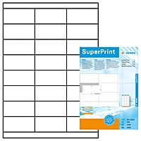 Labels 70 x 33,8mm, A4 Herma premium, white, (100 sheets)