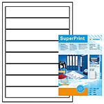 Ordnerlabel 192x34mm A4 Herma white (100 sheets)