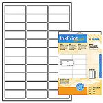 inkprint, photo quality, label size, 63,5 x 25,4 mm, 825 labels (25)