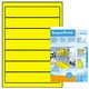 HERMA HERMA super print, label size, 192 x 38 mm, 20 sheets, yellow, 140 labels (20)