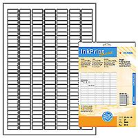inkprint, photo quality, label size, 25,4 x 8,5 mm, 5600 labels (25)
