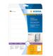 HERMA Spine Insert Labels Herma 5122 190 mm x 30 mm , White (25 sheets / 225 labels)