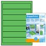 HERMA super print, label size, 192 x 38 mm, 20 sheets, green, 140 labels (20)
