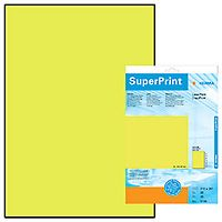 Label 210x297 fluor yellow Herma (20SH)