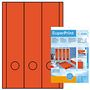 HERMA super print, label size, 61 x 297 mm, 20 sheets, red, 60 labels (20)