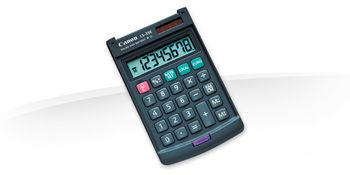 CANON LS-39E pocket calculator (4046A014)