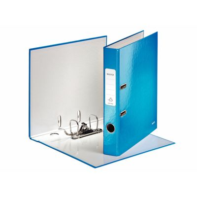 LEITZ 180° WOW Lever Arch File, 10060036, 50mm blue