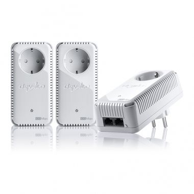 dLAN 500 Duo+ Network Kit High transfer rate of up to 500 Mbps