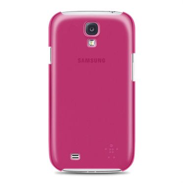 GALAXY S4 SHIELD SHEER MAT/PINK                         IN ACCS