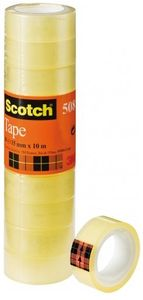 3M Tejp Scotch 508, 10 m x 15 mm transparent (5081510*10)