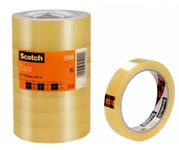 3M Tejp Scotch 508, 66 m x 19 mm transparent (5081966*8)