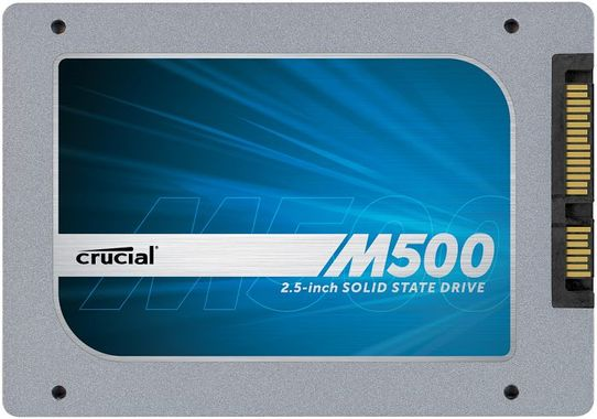480GB M500 SSD SATA 2.5IN 7MM SSD /W 9,5MM BRACKET MEM