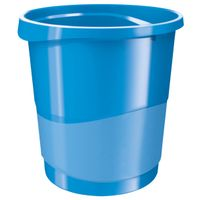 Waste bin Europost Vivida 14L Light blue