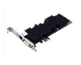 CELSIUS RemoteAccess Card, Host for PCoIP, 2x DVI-I, 10/ 100/ 1000 Mbps LAN, PCIe x1