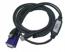 CONSLESWITCH ADAPTER USB-VGA + .