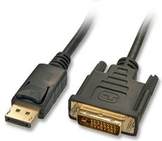 Kabel DisplayPort/  DVI-D 3m DP Stecker an DVI-D Stecker