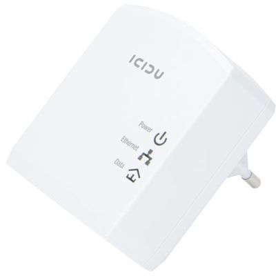 Homeplug  Adapter 500M Mini, 500Mbps, 2 Ethernet