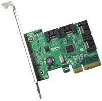 Rocket 640L 4channel PCI-E 2.0X1 to SATA III contr.