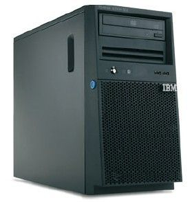 IBM x3100 M4, Xeon 4C E3-1220v2 69W 3.1GHz/ 1600MHz/ 8MB,  1x4GB, O/Bay SS 3.5in SATA, SR C100, DVD-ROM, 350W p/s, Tower  (2582B2G)