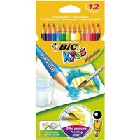 Kids pencil aquacouleur,  in assorted color, 8575613, (12)
