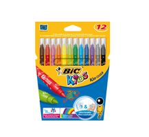 Kids marker Bic, color assorti, 841798, (12)