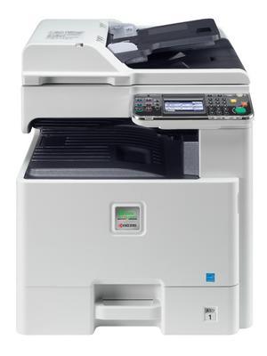FS-C8525MFP - Multifunktionsskrivare - färg - laser - A3/Ledger (297 x 432 mm) (original) - A3 (297 x 420 mm), ANSI B (Ledger) (279 x 432 mm) (media) - upp till 25 sidor/ minut (kopiering) - upp till 2