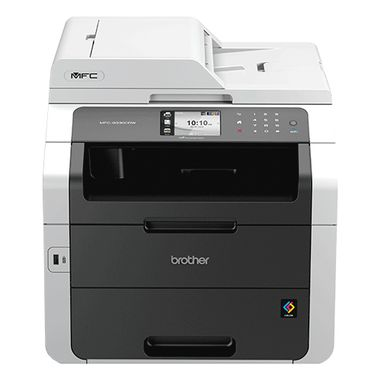 Multifunction Color Laserprinter Copy Duplex Print Scan Fax WiFi