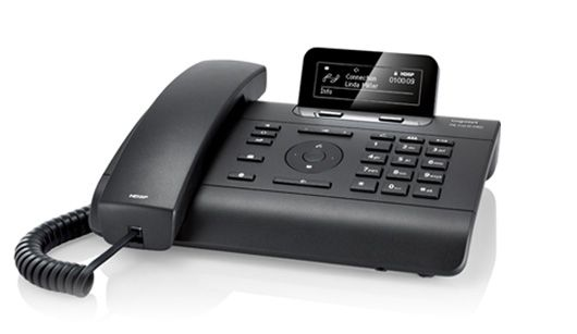 PRO DE310 schwarz, IP-Systemtelefon,  2SIP Accounts