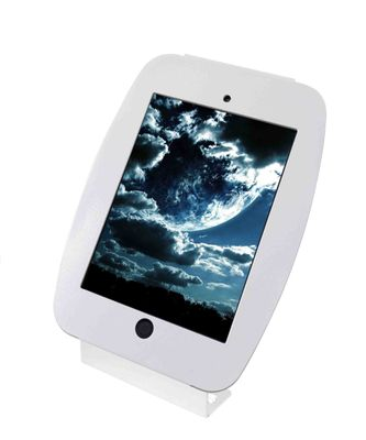 iPad mini Space Enclosure Kiosk White