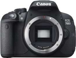 CANON EOS 700D BODY 18MP 3.0IN LCD ISO 12800 HD VIDEO ND (8596B019)