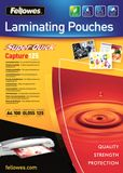FELLOWES Laminating pouches Fellowes A4 125mic superquick (100pack)