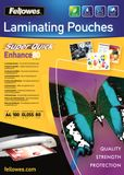 FELLOWES Laminating pouches Fellowes A4 80mic superquick(100pack)