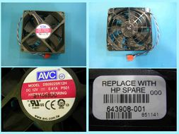 Chassis fan assembly, size 92 x 92mm Chassis Fan Assy, size 92 x 92mm