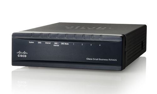 CISCO Gigabit Dual WAN VPN router (RV042G-K9-EU)