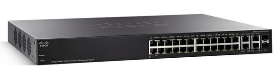 CSB SF300-24MP 24-PORT 10/100 MAX POE MANAGED SWITCH           IN CPNT
